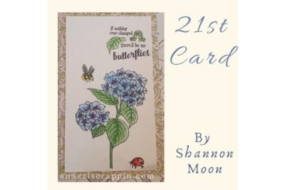 21st card by Shannon Moon