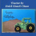John Deere Tractor Card by Knick Knack Chaos