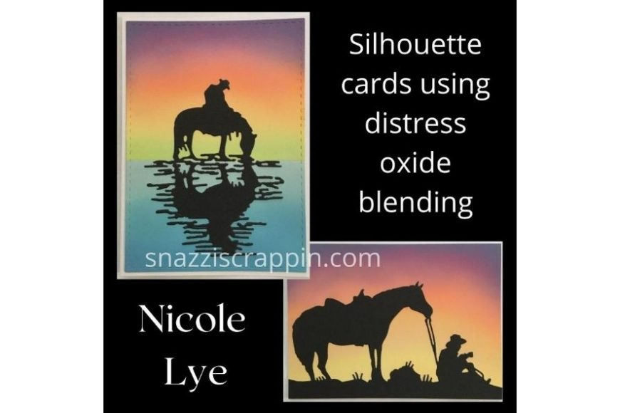 """Silhouette cards"" by Nicole Lye"