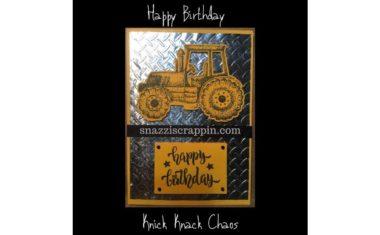 """Happy Birthday"" by Knick Knack Chaos"
