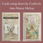 Bow Cards by  CraftyAs