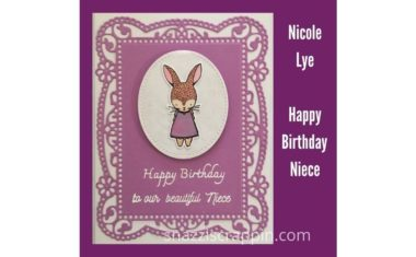 """Happy Birthday Niece"" by Nicole Lye"