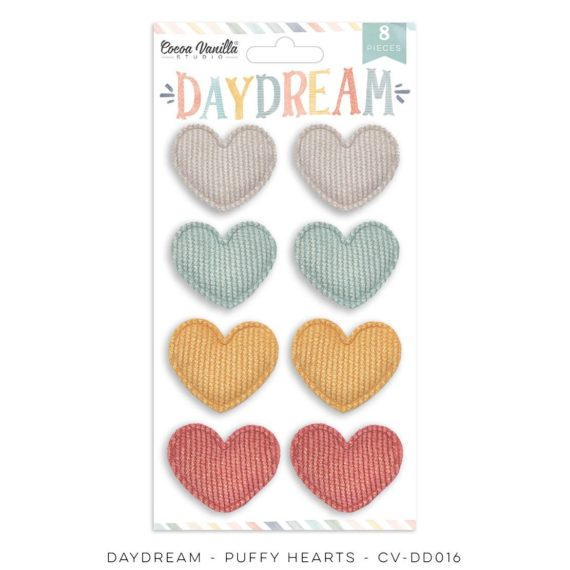 Cocoa Vanilla - DAYDREAM PUFFY HEARTS