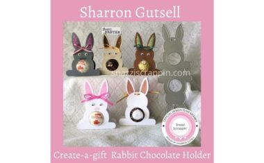 Rabbit Chocolate Holders by Sharron Gutsell