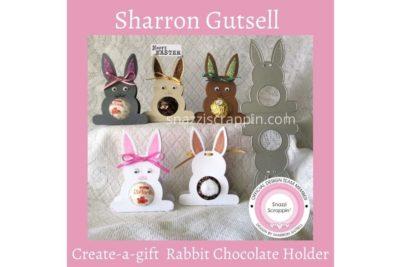 Rabbit Chocolate Holders by Sharron Gutsell