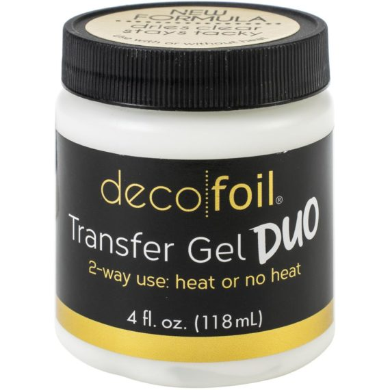 Deco Foil Transfer Gel DUO 4Fl Oz