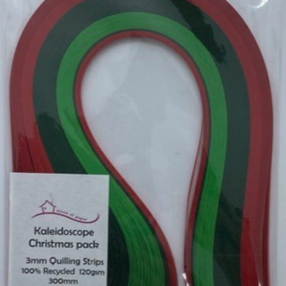Quilling Strips 3mm - Christmas Pack