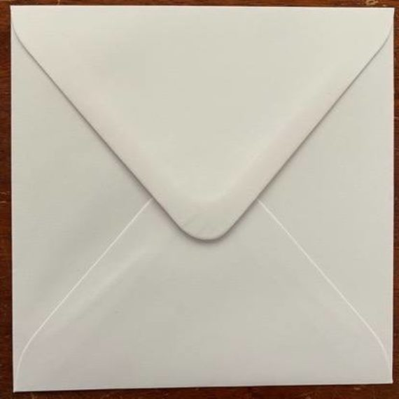 Envelopes - Budget White - 150mm Square - 1