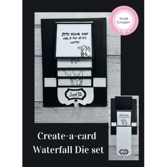 Create-a-card Waterfall Die set