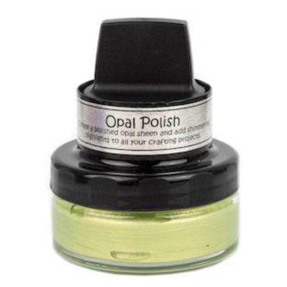 Cosmic Shimmer Opal Polish - Green Lemons