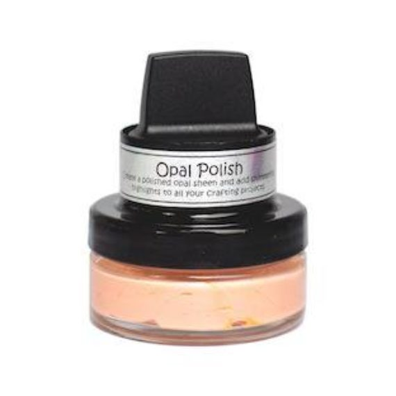 Cosmic Shimmer Opal Polish - Blushed Peach