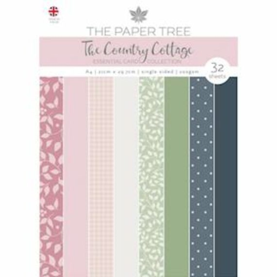 The Paper Tree A4 Essential Colour Card - The Country Cottage