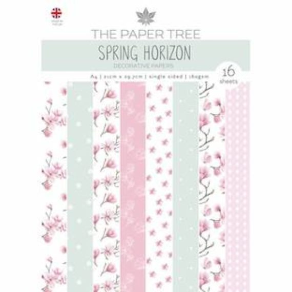The Paper Tree A4 Backing Papers - Spring Horizon