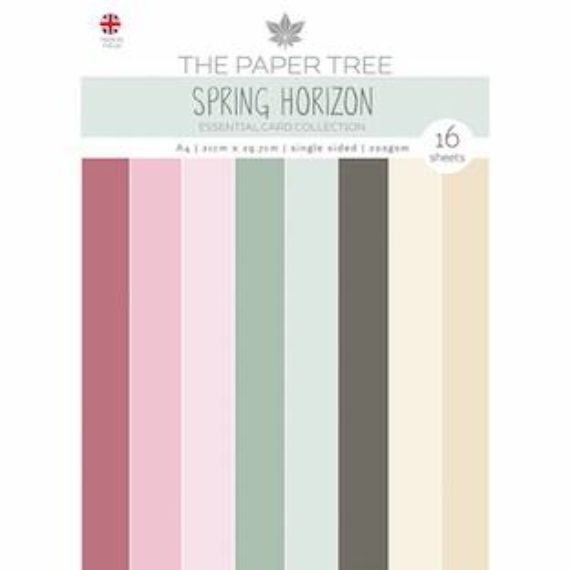 The Paper Tree A4 Essential Colour Card - Spring Horizon