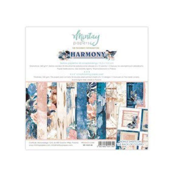 """Mintay - Harmony 6"""" x 6"""" paper pad"""