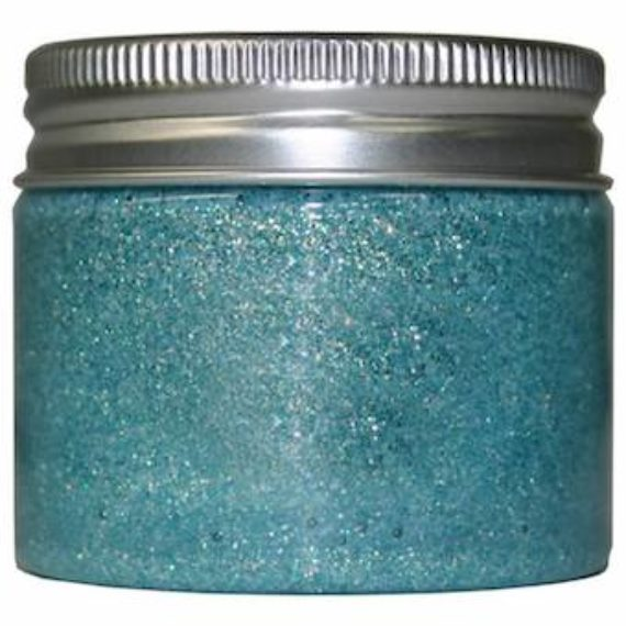 Cosmic Shimmer Sparkle Texture Paste Frosted Aqua 50ml