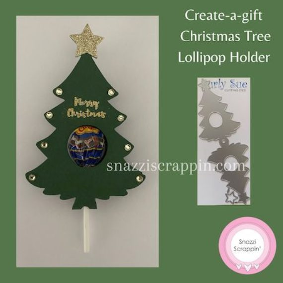 Create-a-gift - Lolly Pop Holder - Christmas Tree
