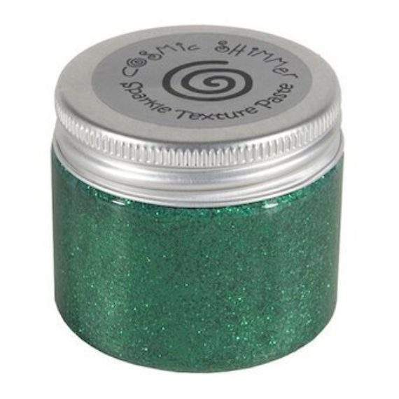 Cosmic Shimmer Sparkle Texture Paste Emerald 50ml