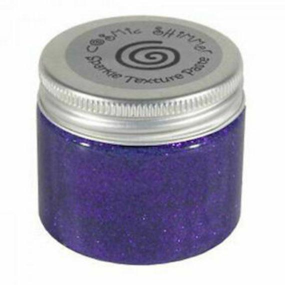 Cosmic Shimmer Sparkle Texture Paste Vivid Violet 50ml